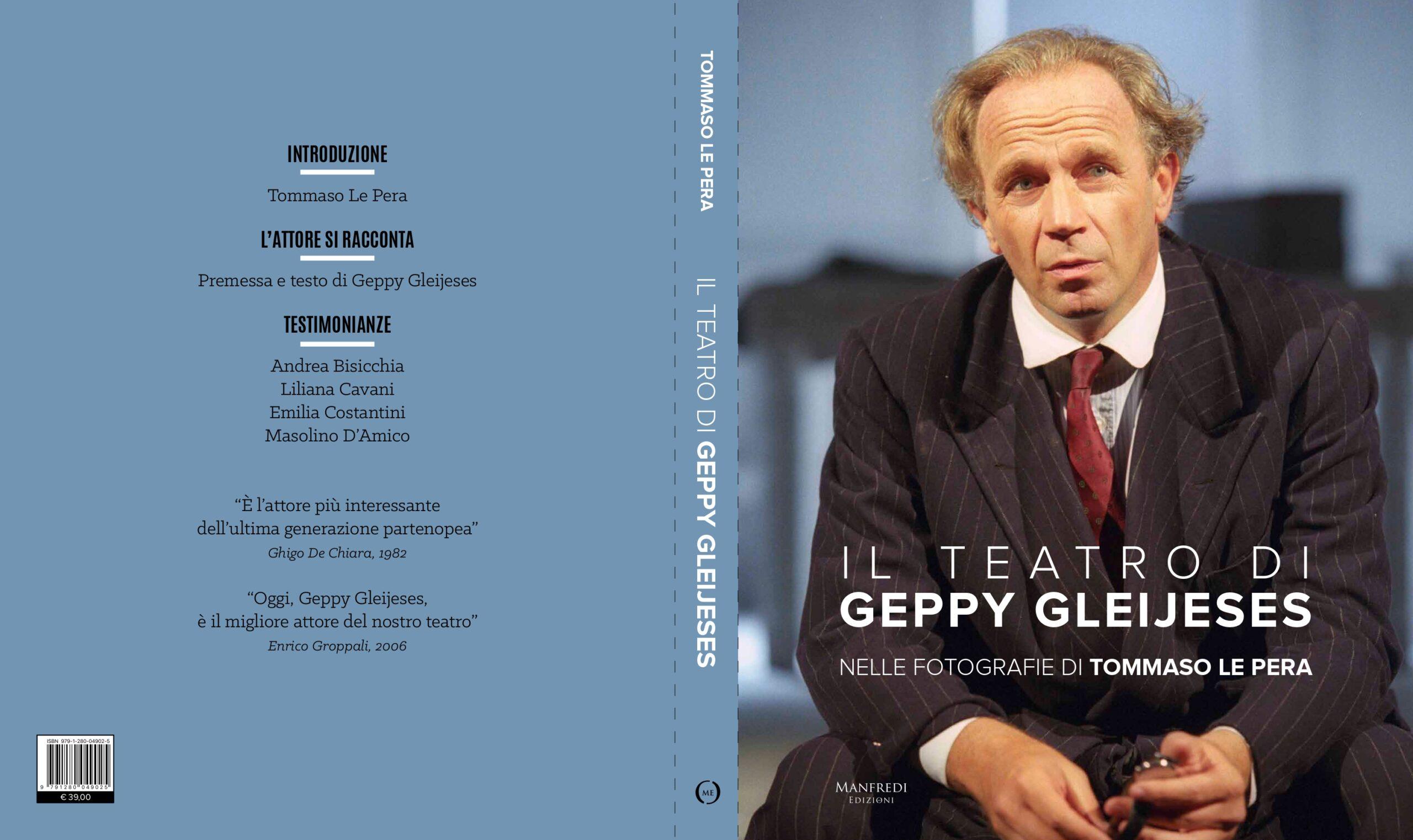 """Featured image for """"Presentazione """"Il Teatro di Geppy Gleijeses nelle fotografie di Tommaso Lepera"""""""""""
